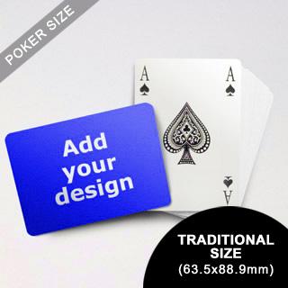 Bridge Style Selection Custom Poker (Landscape) (63.5 X 88.9mm)