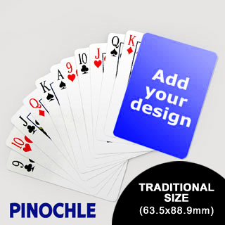 Pinochle Fun Classic Choice (63.5 X 88.9mm)