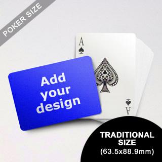 Classic Choice Custom Poker Front (Landscape) (63.5 X 88.9mm)
