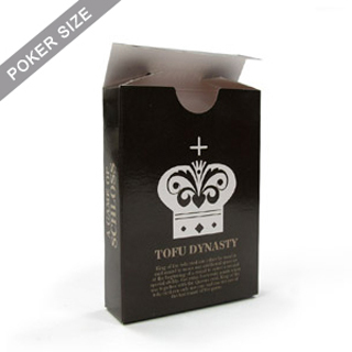 Custom Tuck Box For Playing Cards (Poker Size)