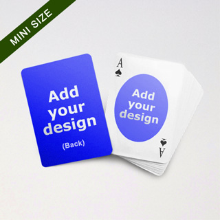 Mini Card Series Double Faces With Oval Back