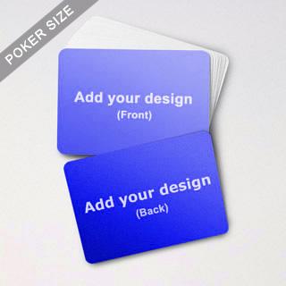 Custom Blank Game Cards Landscape (63 X 88mm)
