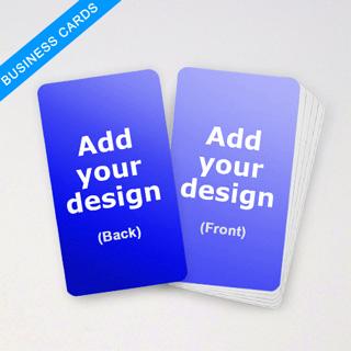 Business Deck Custom Blank Cards