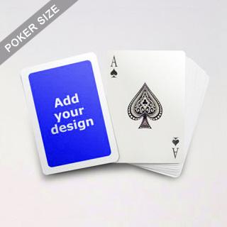 5mm White Border Poker Cards