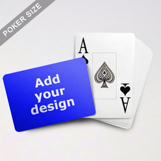 Jumbo Index Cards Poker Size (Landscape)