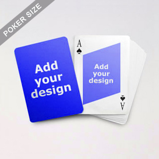 Twist Custom Front And Back Playing Cards