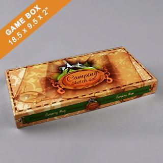 Custom Extra Large Rectangular Game Box