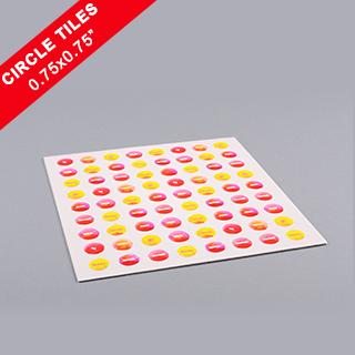 Custom Circle Game Tiles 0.75