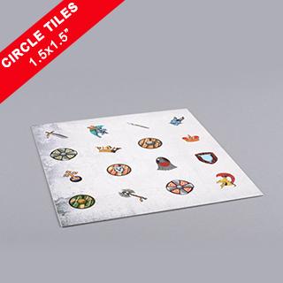 Custom Circle Game Tiles 1.5