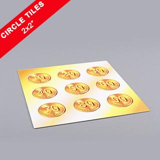 Custom Circle Game Tiles 2