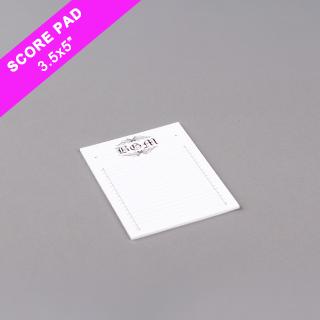 Custom Score Pad Medium Size