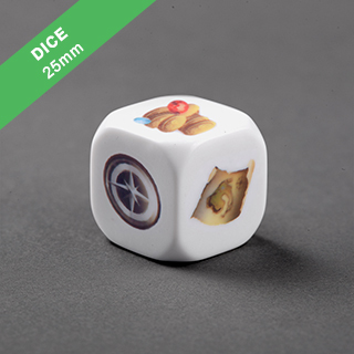 Custom Dice 25mm Rounded