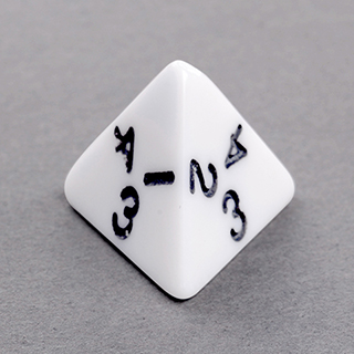 4 Sided Dice