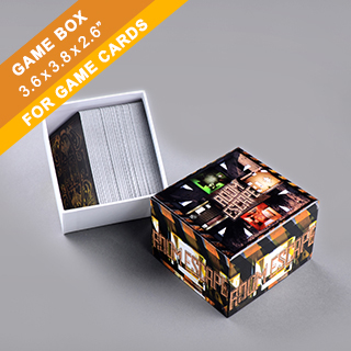 Custom Card Game Box 200 Cards
