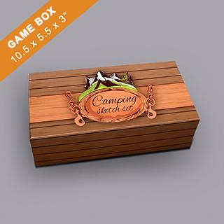 Custom Rectangular Game Box 3