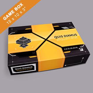 Custom Large Rectangular Game Box 3