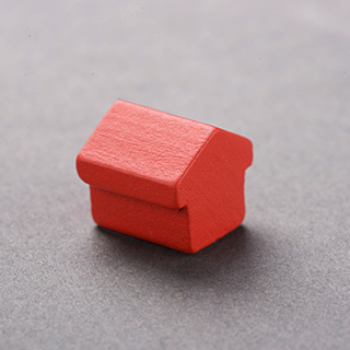 Wooden House Red