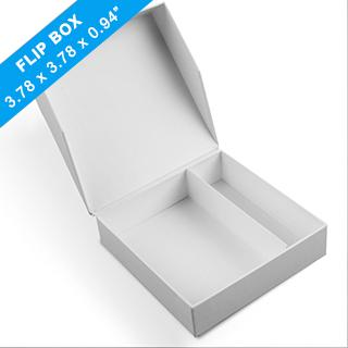 Plain Easy-Flip Game Box 96 X 96 X 24mm