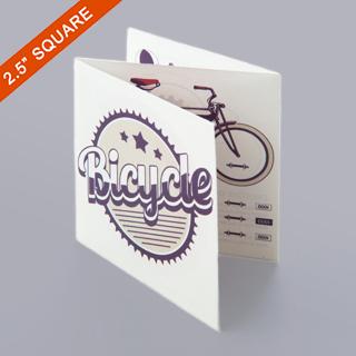 Z-Fold Booklet For 2.5