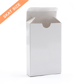 Tuck Box For Skat Sized Playing Cards