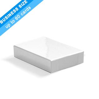 Plain Rigid Box For 60 Business Size Cards