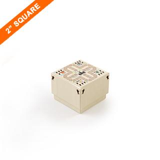 Custom Rigid Box For Small Square Cards