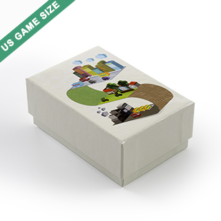 Custom Rigid Box For 60 US Game Size Cards