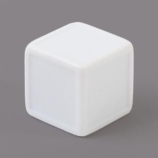 19mm straight corner sticker Dice white