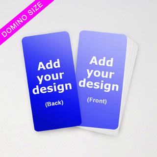 custom domino cards