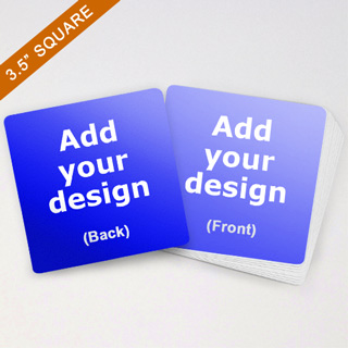custom large square cards