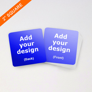 custom square cards