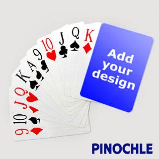 custom pinochle cards