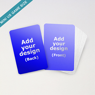 Mini US game size cards