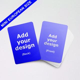 Mini European size cards